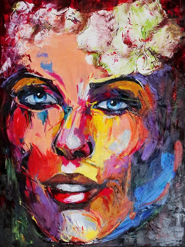 Liliana Stoleru's painting