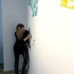 Melika Monjazi Instagrammable wall
