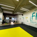 Fitclub Factory and instagrammble wall view!