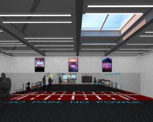 Club view - 3d Rendering by 1.61Studio
