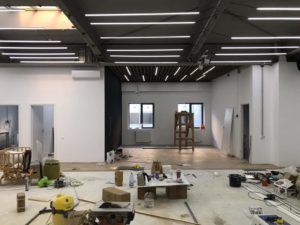 Fitclub Factory under construction