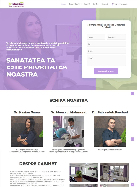 Stomatologie Voluntari Website