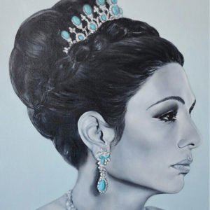 Her Imperial Majesty Empress Farah Pahlavi Shahbanou of IRAN