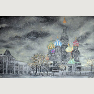 St. Basil's Cathedral Painting