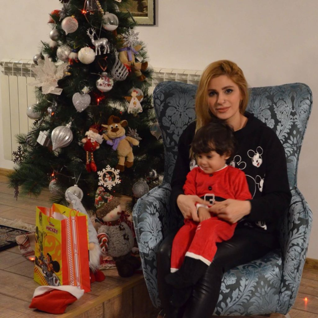Melika Monjazi & Mario wishing you a happy new year