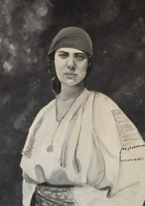 14 years old princess ileana of Romania by Melika Monjazi