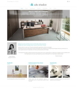 161 Studio website
