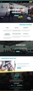 FitClub Factory website